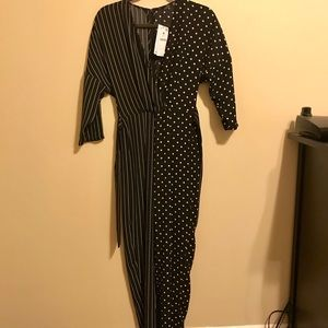 Two patterned jumpsuit!
